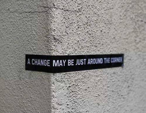 durf jij om het hoekje te kijken? Verandering