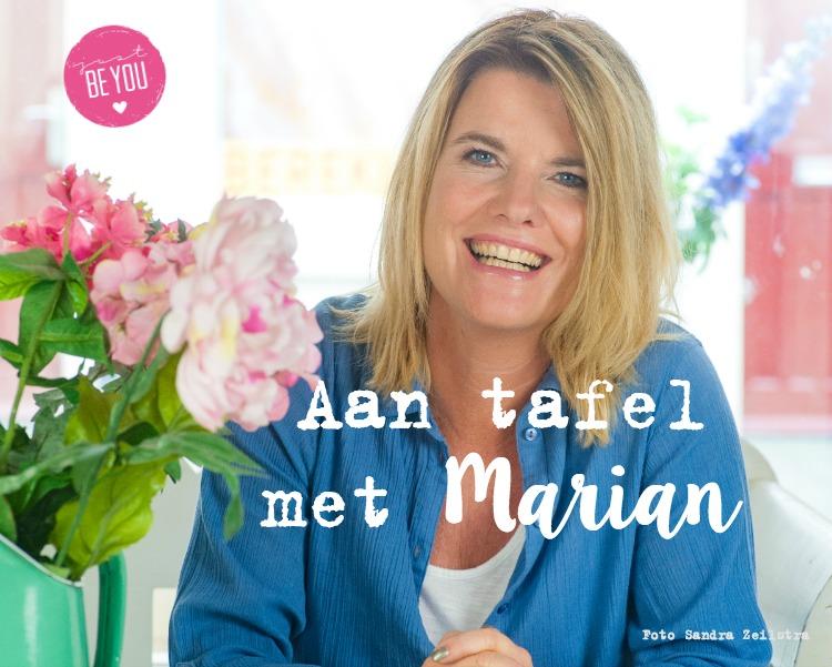 Aan tafel met Marian, Just Be You