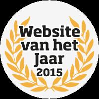 Logo Website van het Jaar