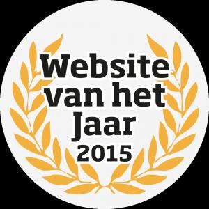 website van het jaar 2015