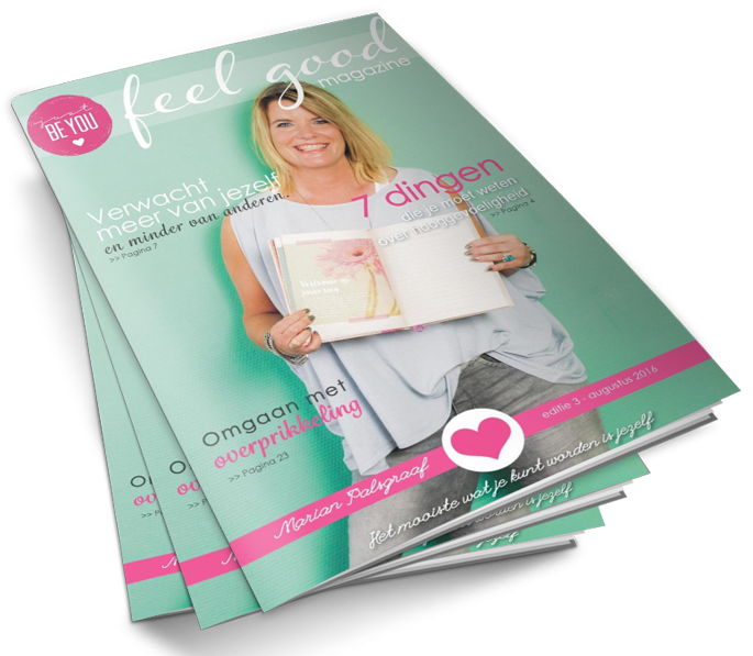 Online Feelgood Magazine van Just Be You