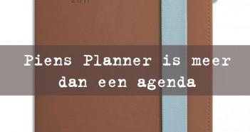 Piens Planner is meer dan een agenda