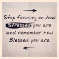 Stop met je te focussen op je stress