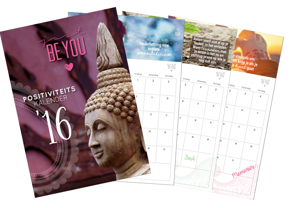 Visual Positiviteits Kalender