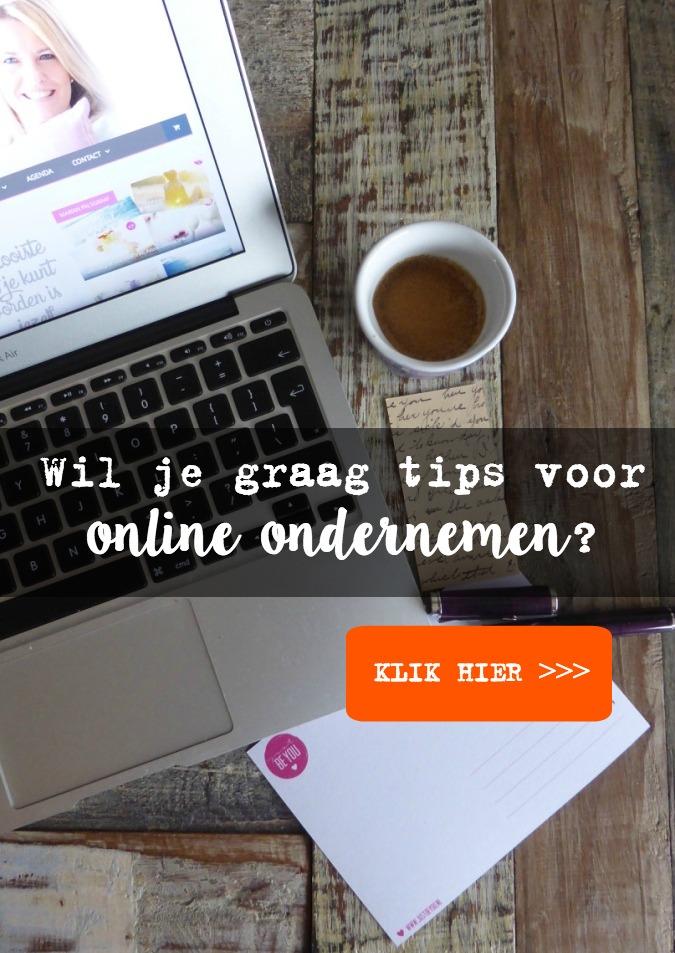 Wil je graag tips voor online ondernemen