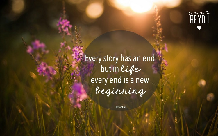 every story has an end but in life
