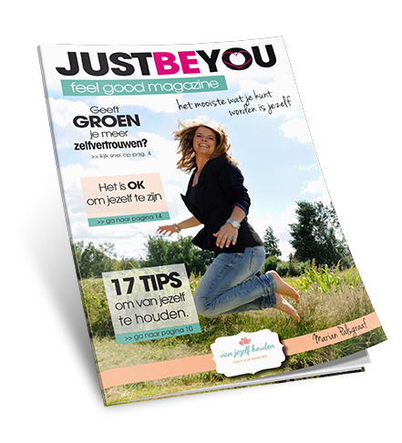 justbeyou feelgood magazine cover